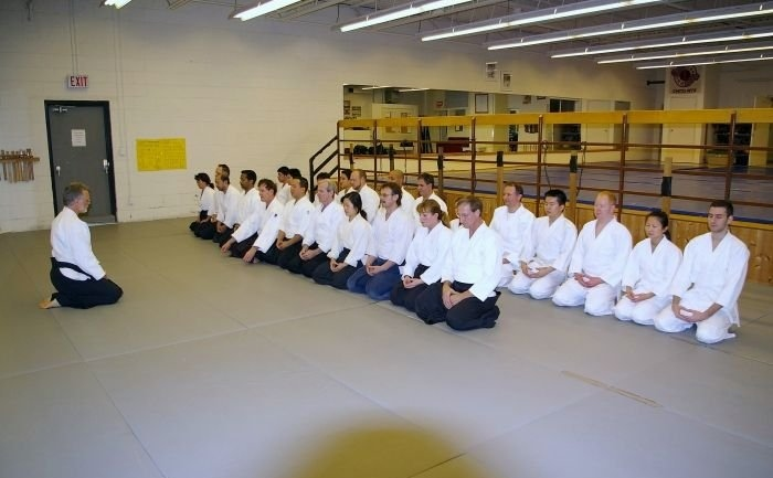 Bowing in Aikido